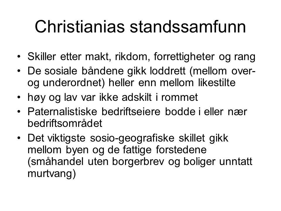 Christianias standssamfunn