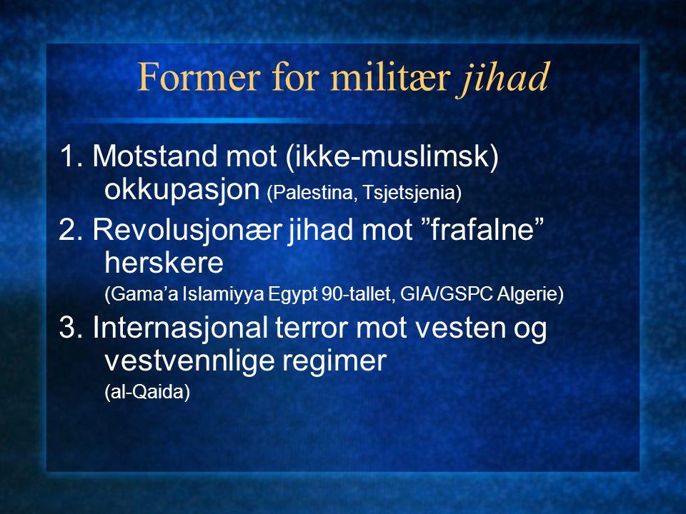 Former for militær jihad