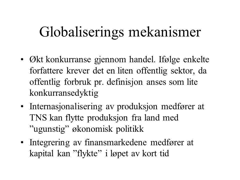 Globaliserings mekanismer