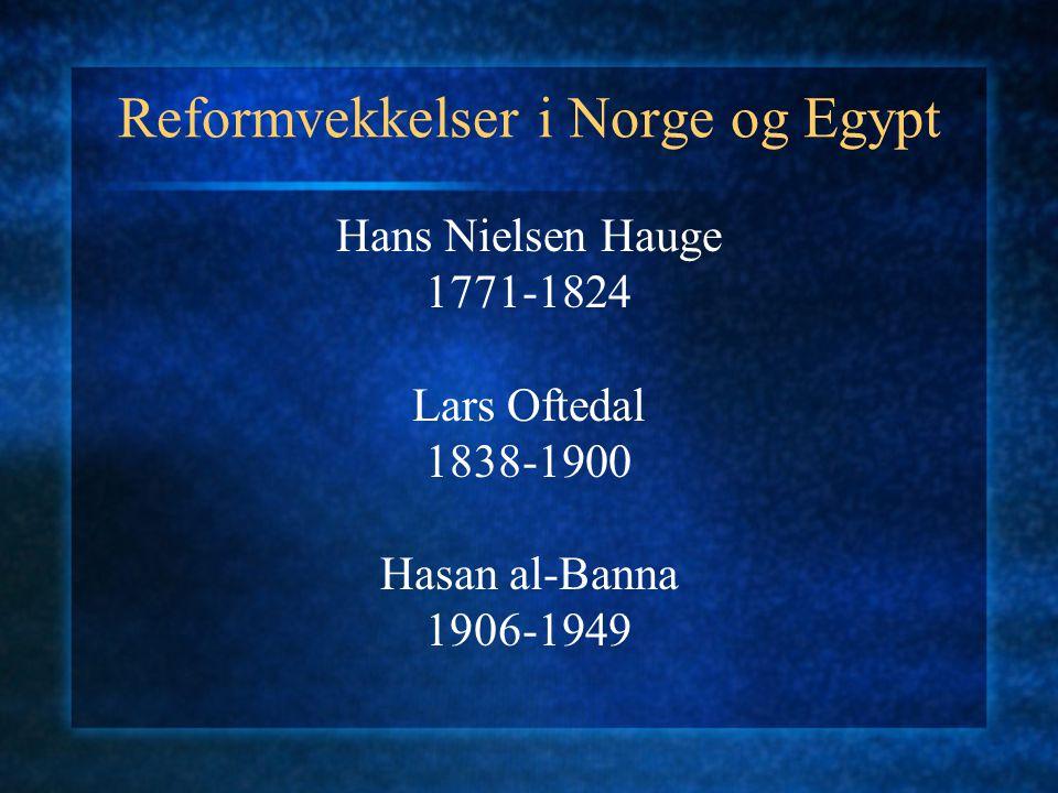Reformvekkelser i Norge og Egypt