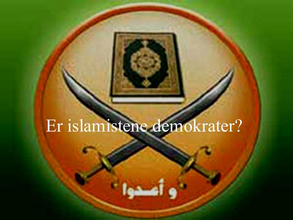 Er islamistene demokrater