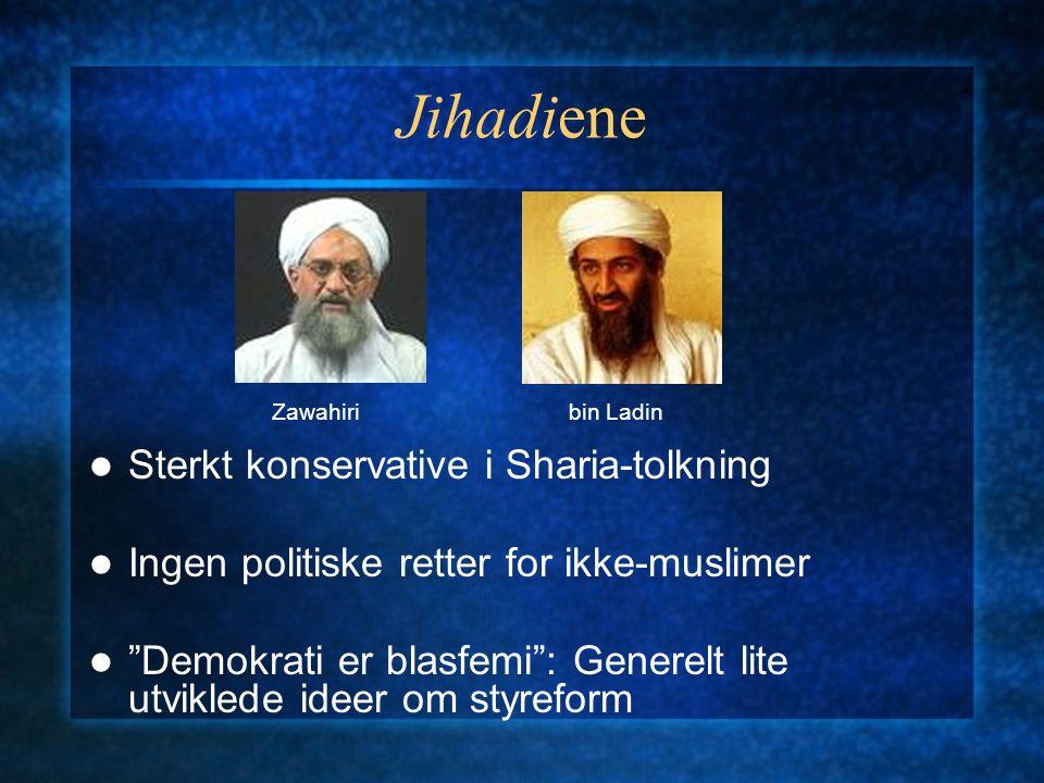 Jihadiene Sterkt konservative i Sharia-tolkning