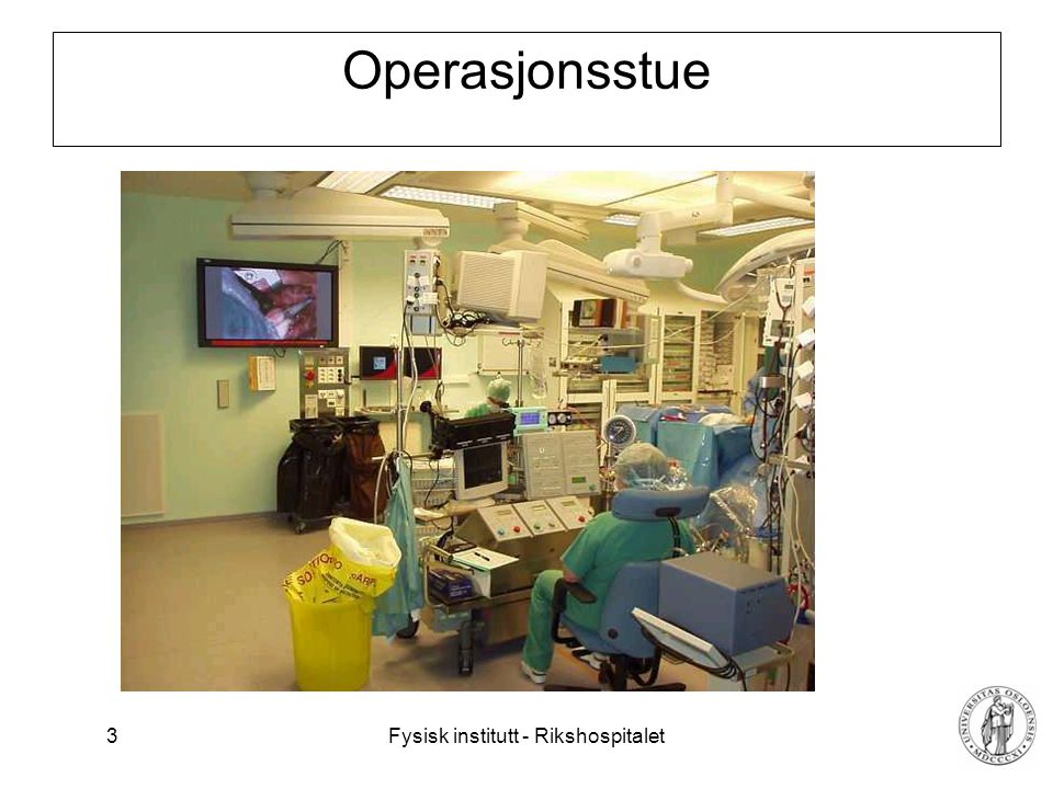 Operasjonsstue