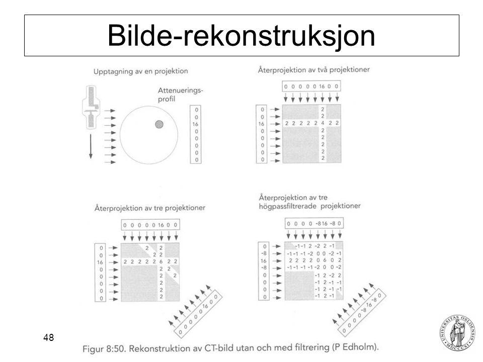 Bilde-rekonstruksjon
