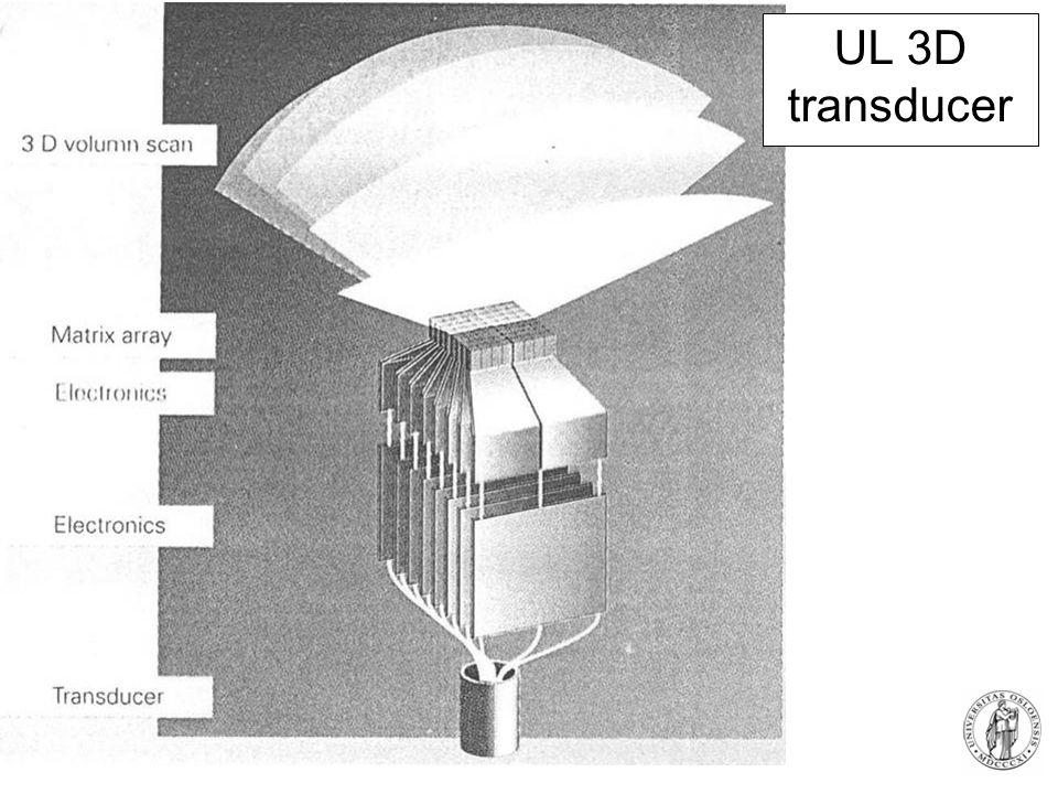 UL 3D transducer