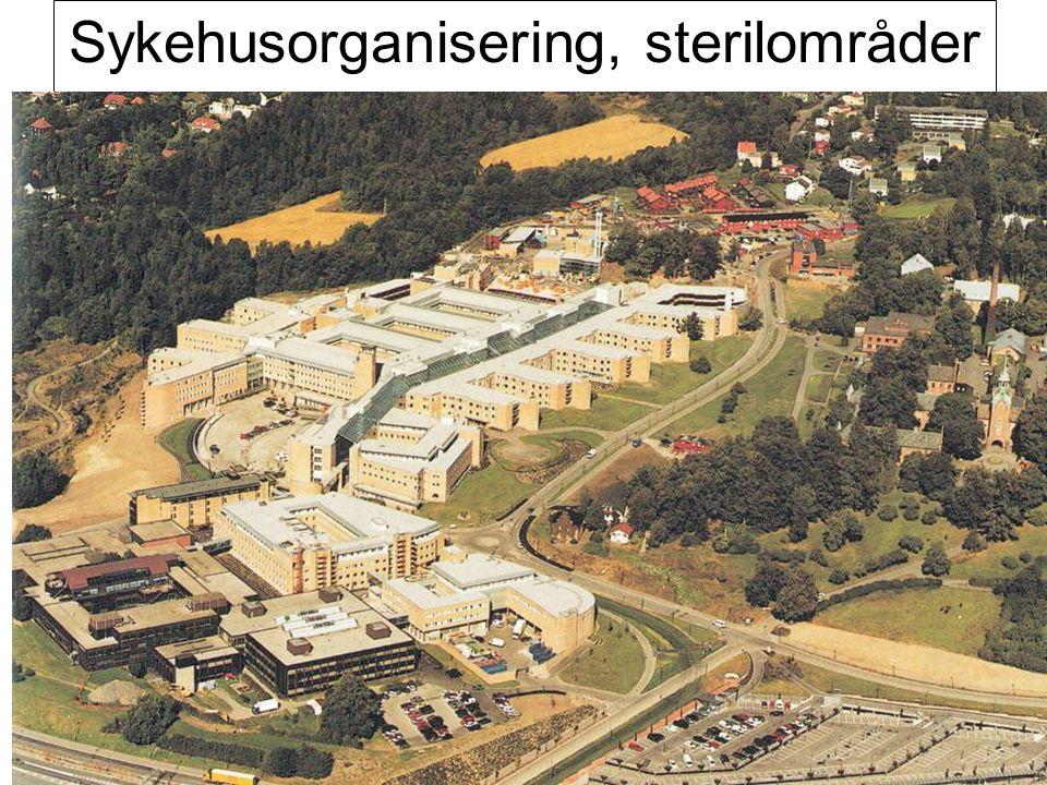 Sykehusorganisering, sterilområder