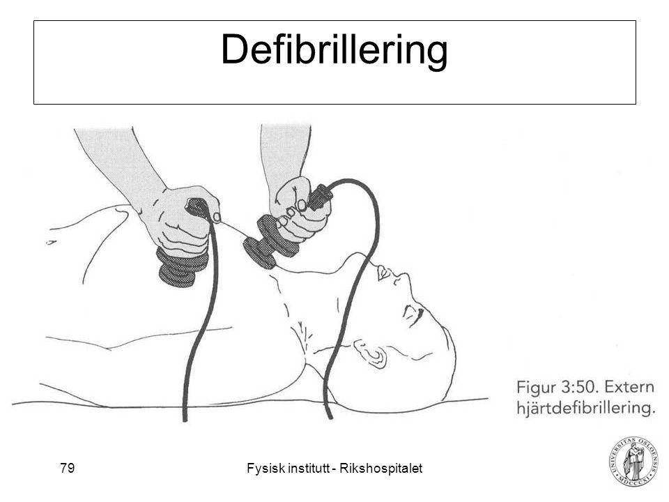 Defibrillering