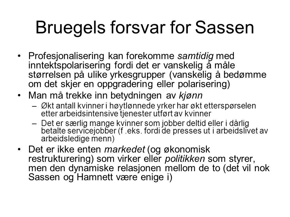 Bruegels forsvar for Sassen