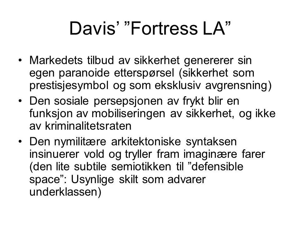 Davis' Fortress LA