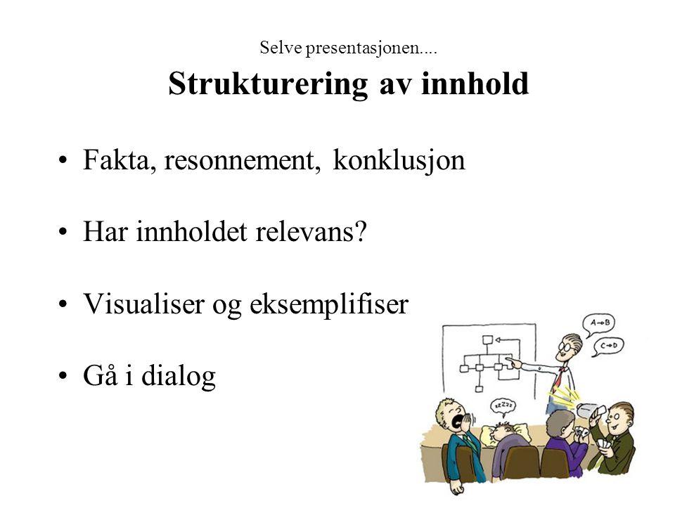 Strukturering av innhold