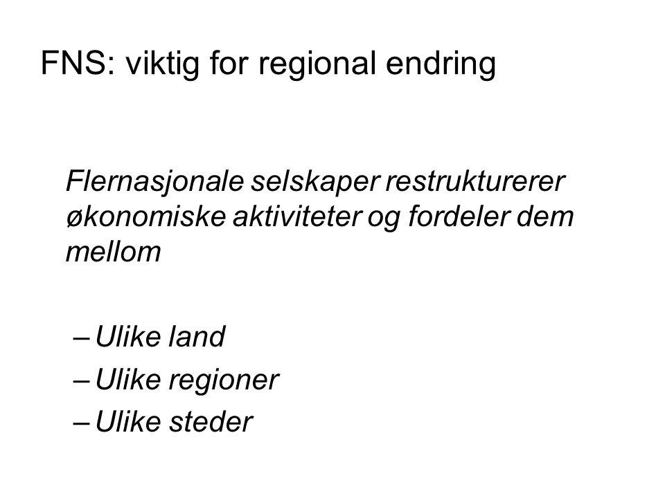 FNS: viktig for regional endring