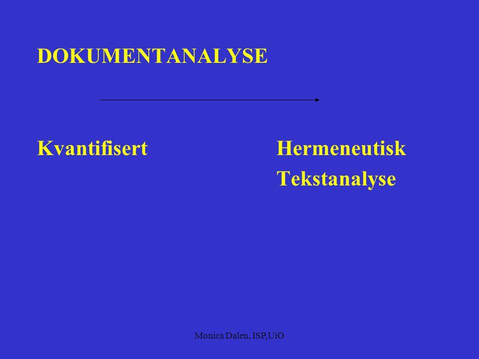 Kvantifisert Hermeneutisk Tekstanalyse