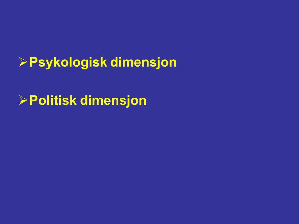 Psykologisk dimensjon