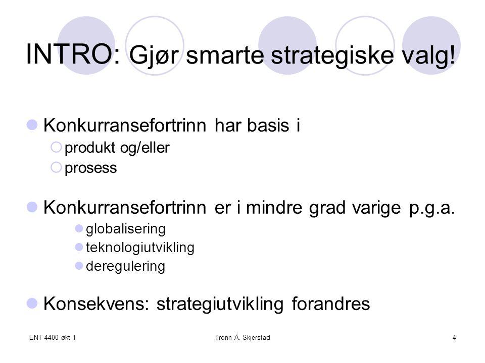 INTRO: Gjør smarte strategiske valg!