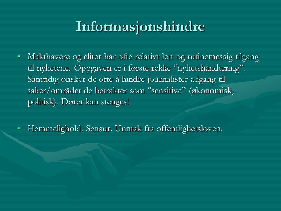 Informasjonshindre