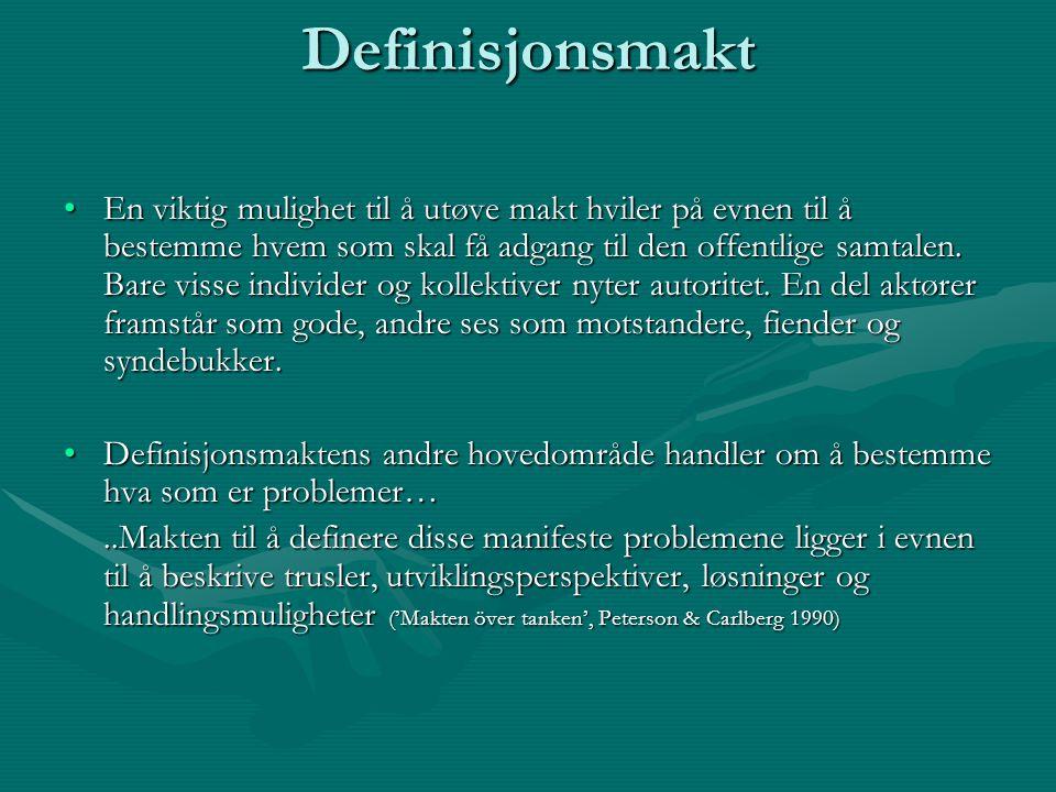 Definisjonsmakt