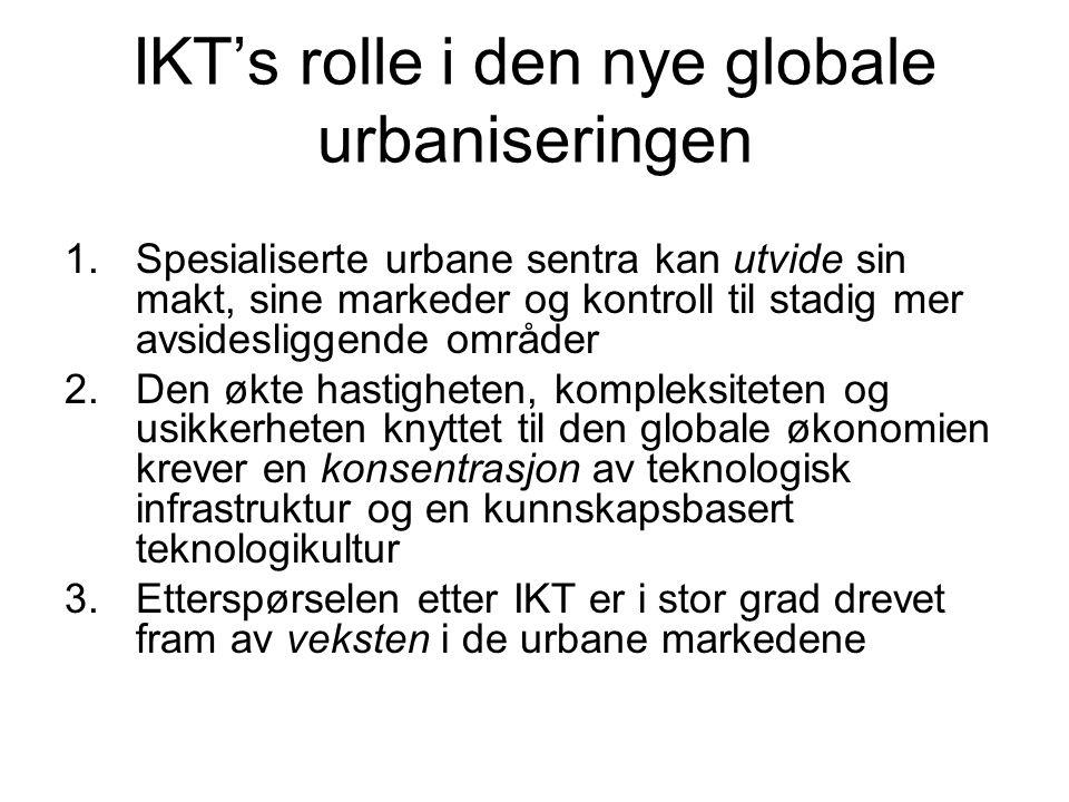 IKT's rolle i den nye globale urbaniseringen