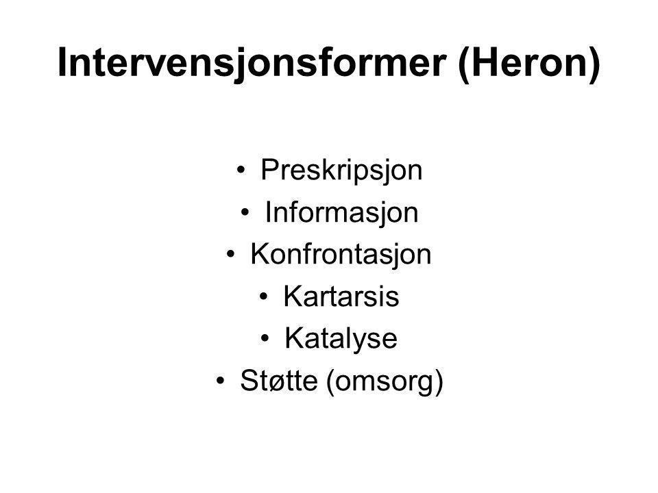 Intervensjonsformer (Heron)