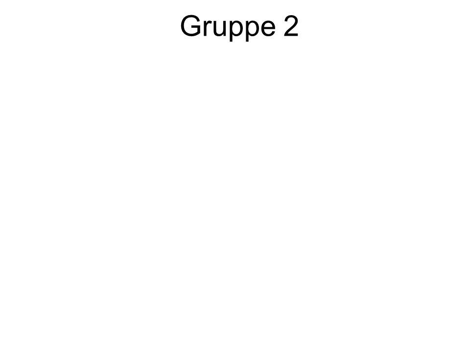 Gruppe 2