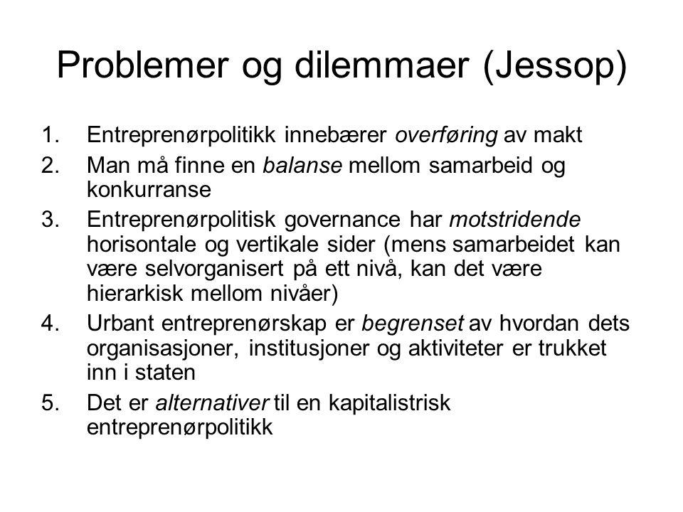 Problemer og dilemmaer (Jessop)