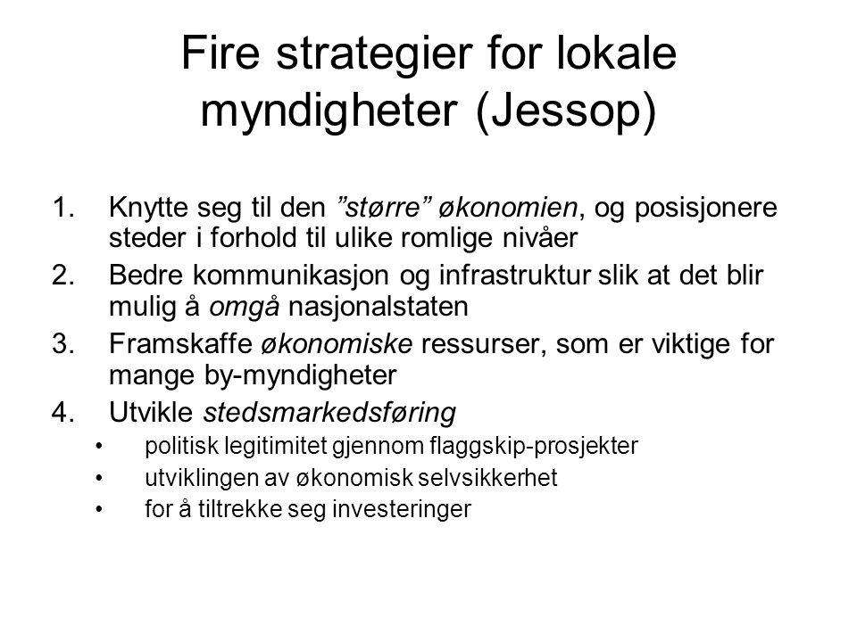 Fire strategier for lokale myndigheter (Jessop)