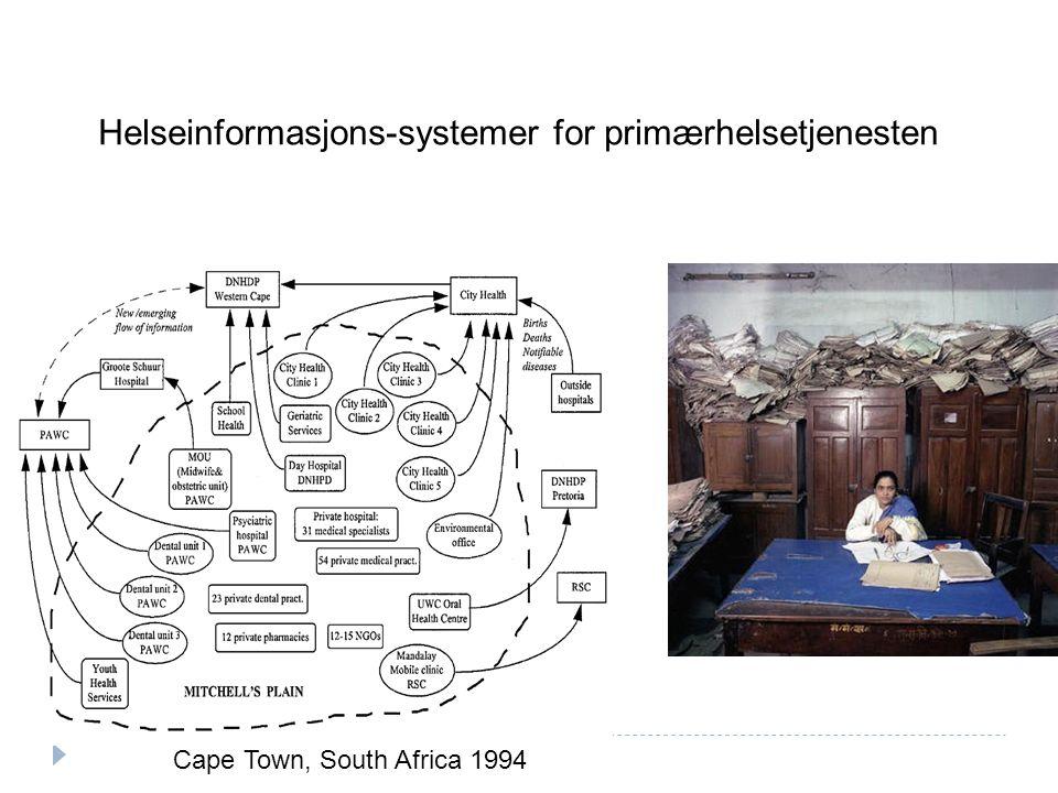 Helseinformasjons-systemer for primærhelsetjenesten