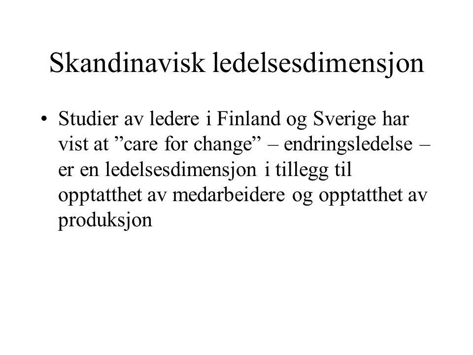 Skandinavisk ledelsesdimensjon