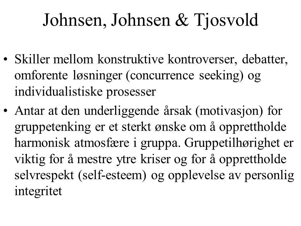Johnsen, Johnsen & Tjosvold