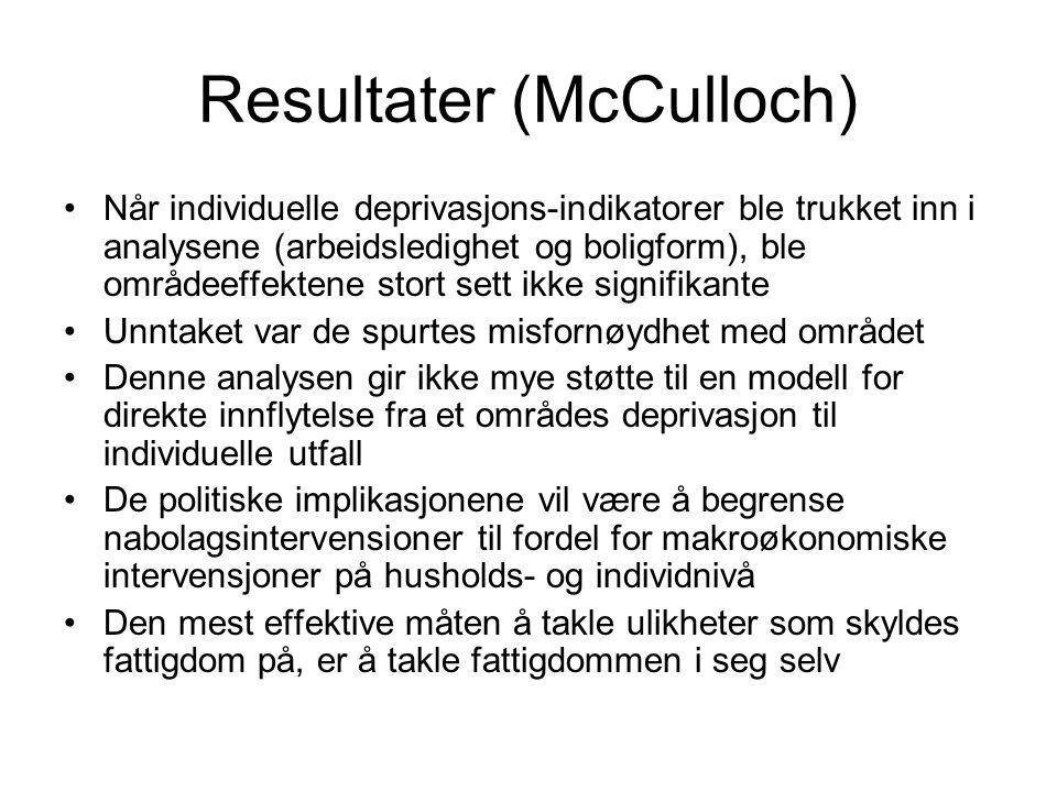 Resultater (McCulloch)