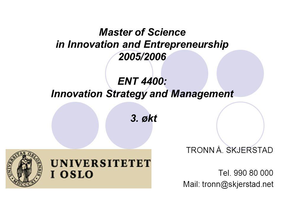 TRONN Å. SKJERSTAD Tel. 990 80 000 Mail: tronn@skjerstad.net