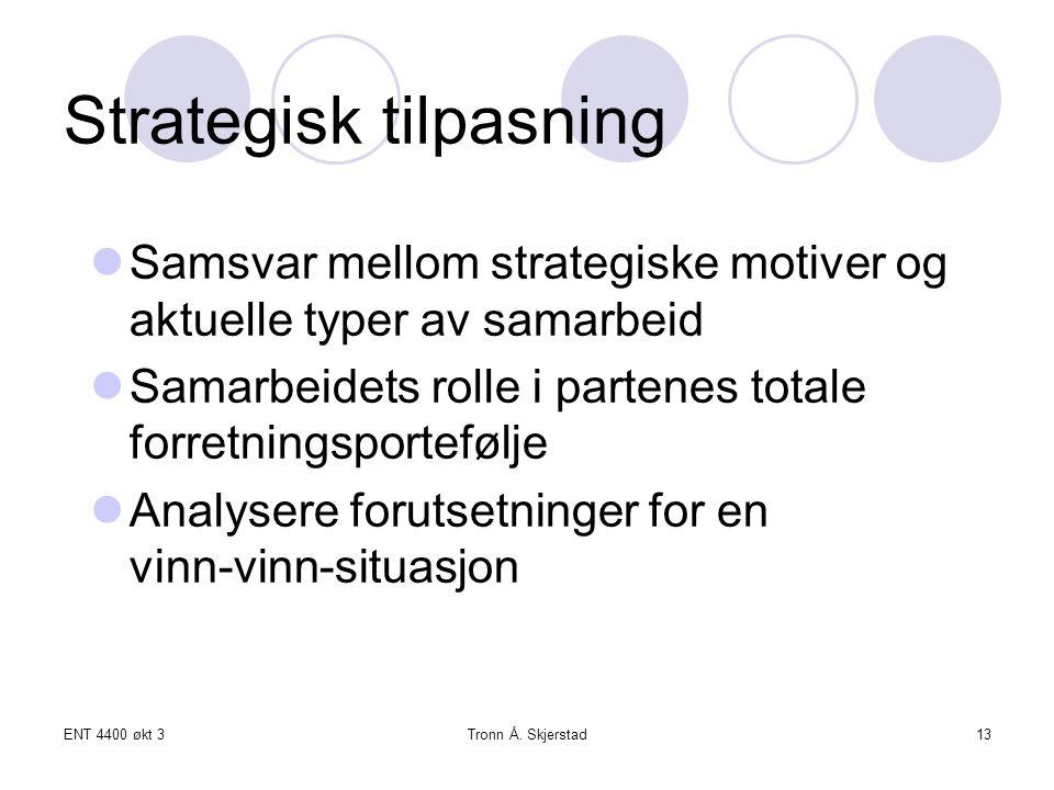 Strategisk tilpasning