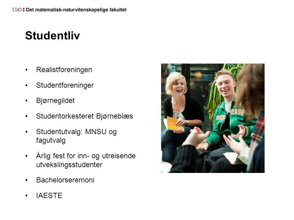 Studentliv Realistforeningen Studentforeninger Bjørnegildet