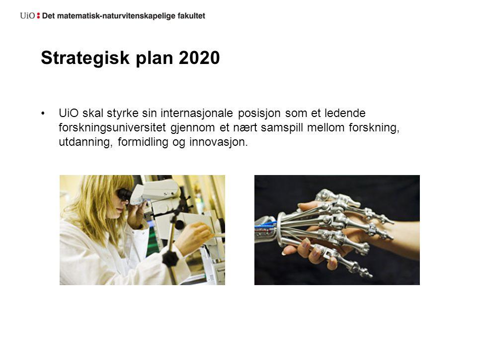 Strategisk plan 2020