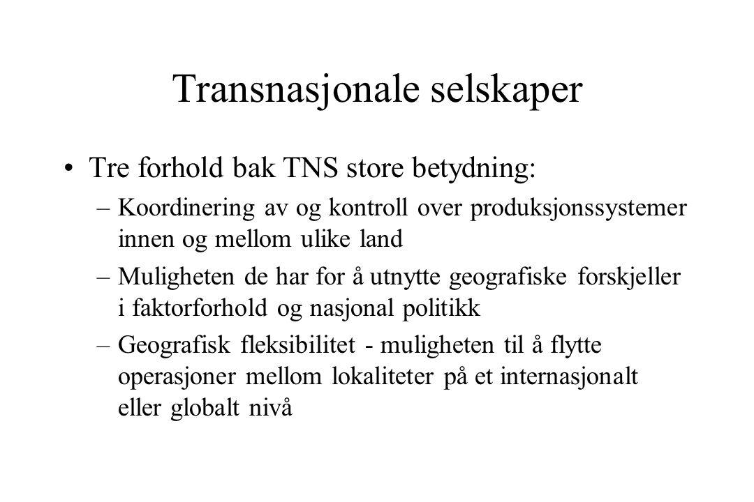 Transnasjonale selskaper