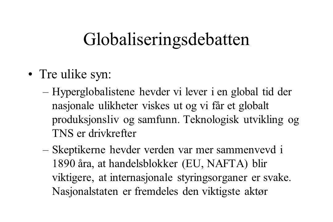 Globaliseringsdebatten