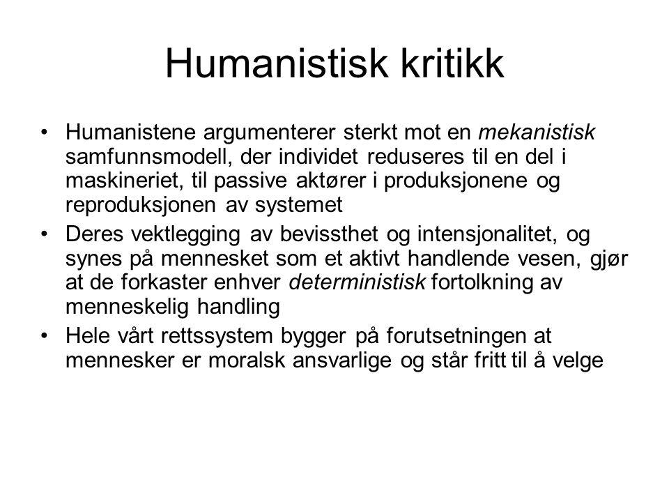 Humanistisk kritikk