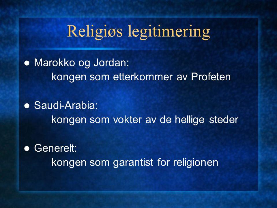 Religiøs legitimering