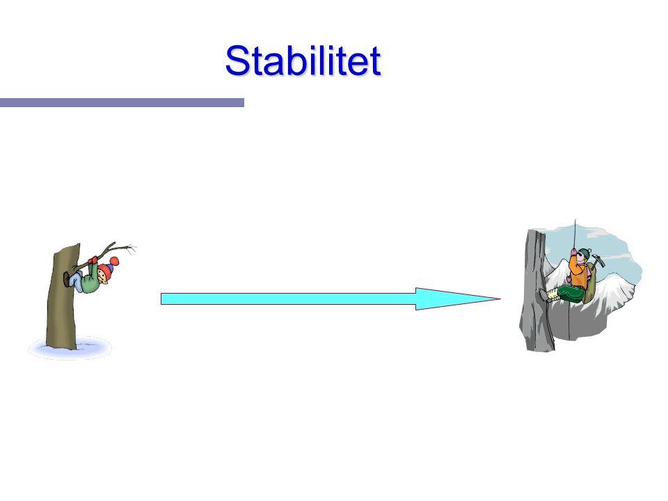 Stabilitet