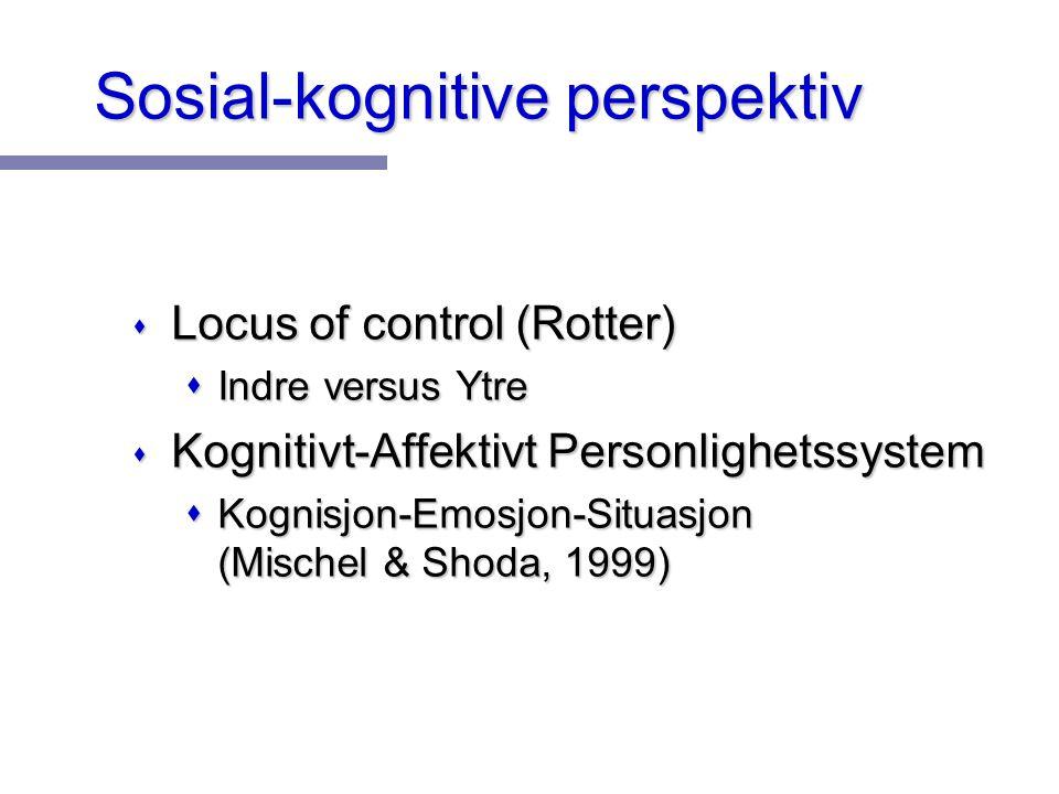 Sosial-kognitive perspektiv