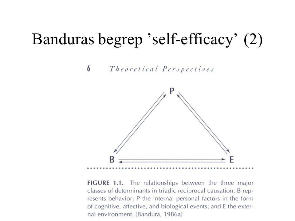 Banduras begrep 'self-efficacy' (2)