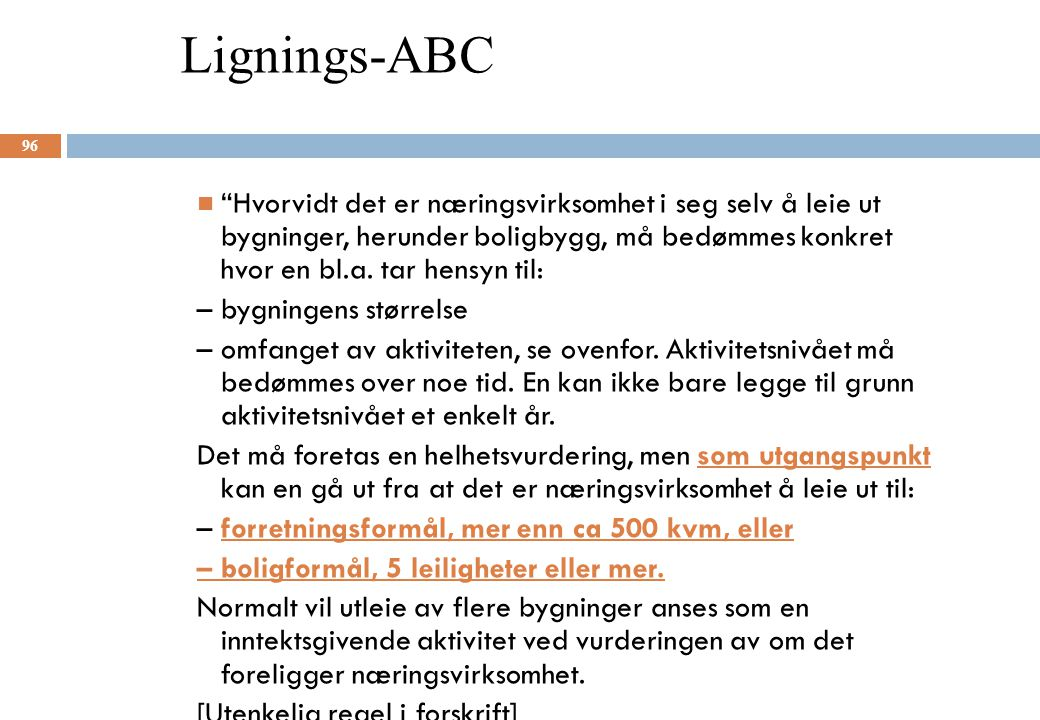 Lignings-ABC