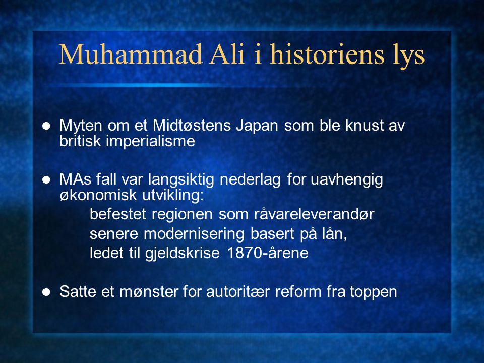 Muhammad Ali i historiens lys