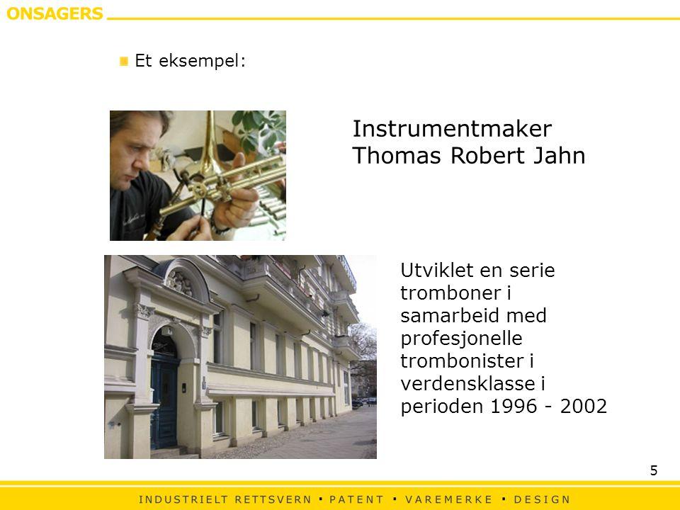 Instrumentmaker Thomas Robert Jahn