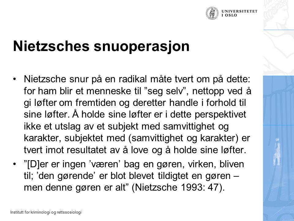 Nietzsches snuoperasjon