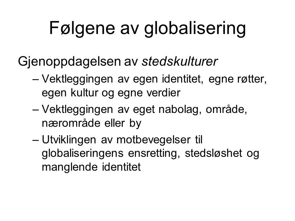 Følgene av globalisering