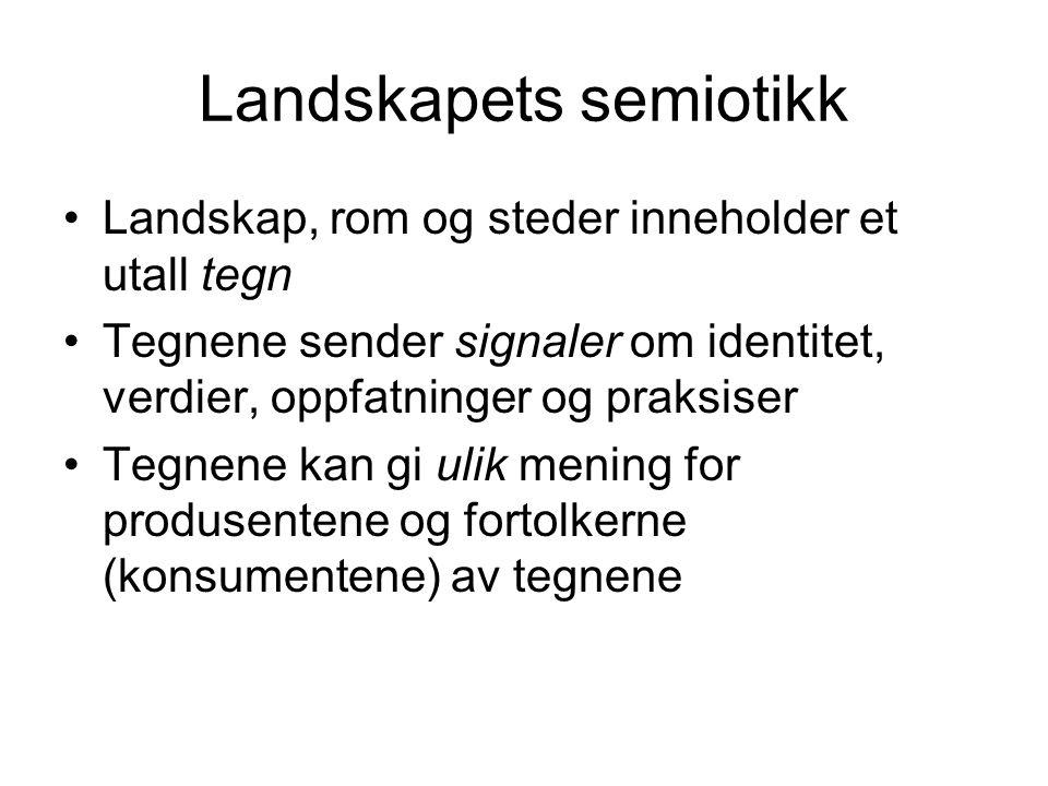 Landskapets semiotikk