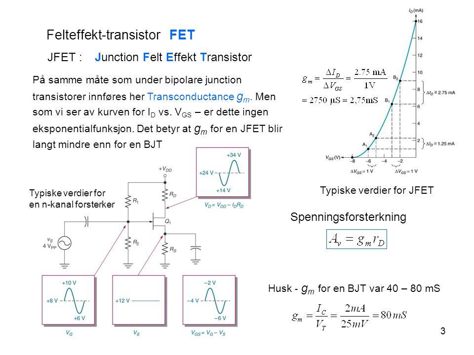 Felteffekt-transistor FET