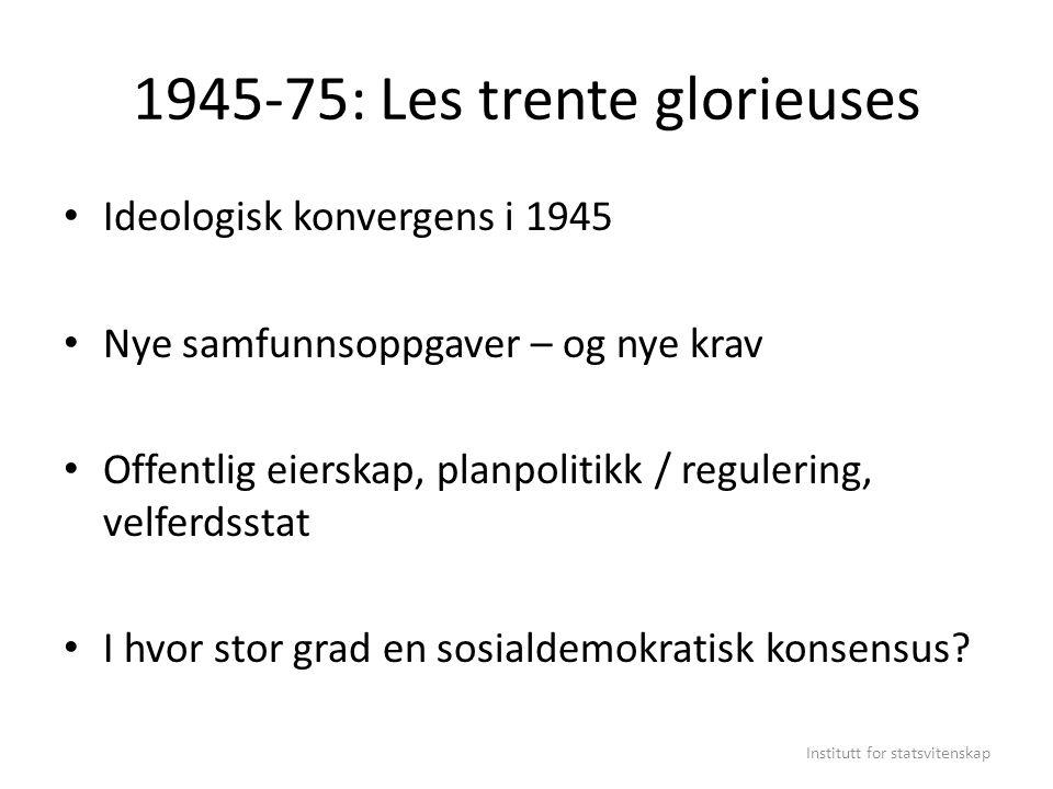 1945-75: Les trente glorieuses