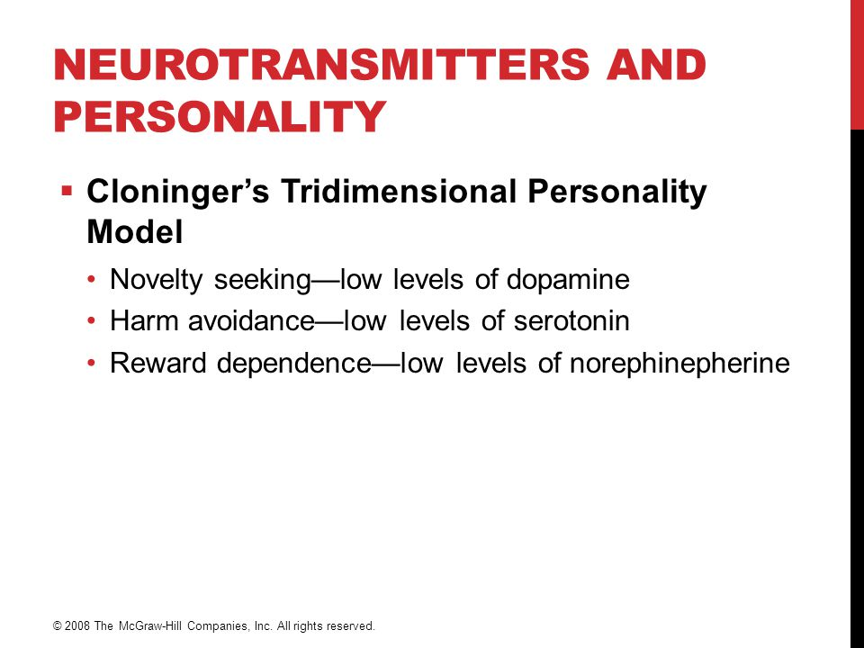 Neurotransmitters and Personality
