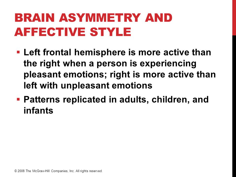 Brain Asymmetry and Affective Style